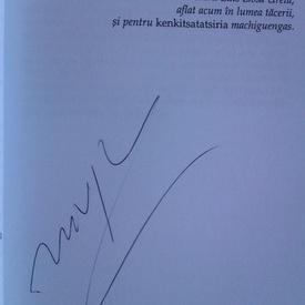 Mario Vargas Llosa - Povestasul (cu autograf)