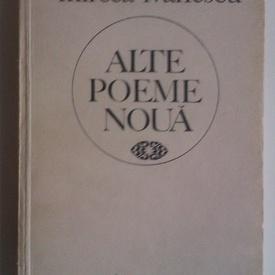 Mircea Ivanescu - Alte poeme noua (cu autograf)