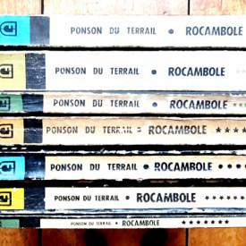 Ponson du Terrail - Rocambole (7 vol.)