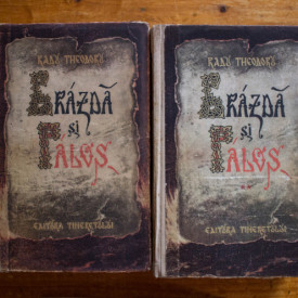 Radu Theodoru - Brazda si palos (2 vol., editie hardcover)