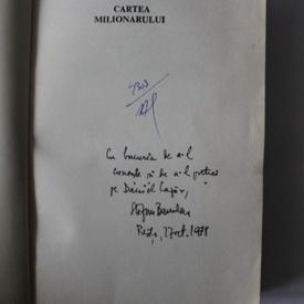 Stefan Banulescu - Cartea milionarului I. Cartea de la Metopolis (cu autograf)