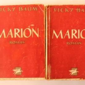 Vicky Baum - Marion (2 vol., editie interbelica)