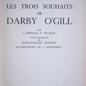 Walt Disney presente Les trois souhaits de Darby O`Gill par Lawrence E. Watkin (editie hardcover)