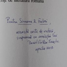 Daniel Cristea-Enache - Timpuri noi (cu autograf)