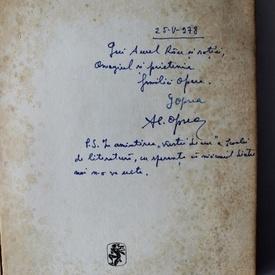 Galina Oprea, Al. Oprea - J. J. Rouseau si L. N. Tolstoi in cautarea varstei de aur (cu dublu autograf)