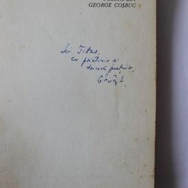 Petru Poanta - Poezia lui George Cosbuc (cu autograf)