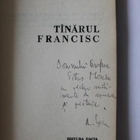 Adrian Popescu - Tanarul Francisc (cu autograf)