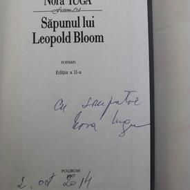 Nora Iuga - Sapunul lui Leopold Bloom (cu autograf)