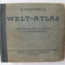 G. Freytag`s Welt-atlas (editie hardcover, interbelica, in limba germana)