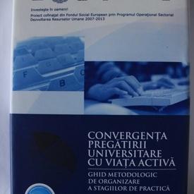 Cristina Ciumas - Convergenta pregatirii universitare cu viata activa. Ghid metodologic de organizare a stagiilor de practica (editie hardcover)