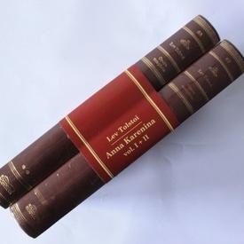Lev Tolstoi - Anna Karenina (2 vol., editie hardcover invelita in piele)
