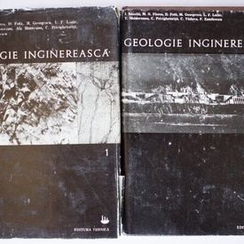 Ion Bancila (coord.) - Geologie inginereasca (2 vol., editie hardcover)