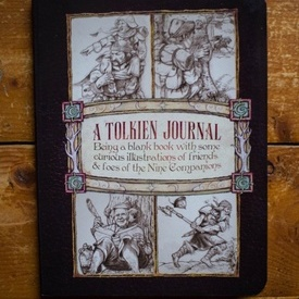 J.R.R. Tolkien - A Tolkien journal (Being a blank book with some curious illustrations of friends & foes of the Nine Companions)