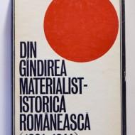 Pompiliu Teodor - Din gandirea materialist-istorica romaneasca (1921-1944) (editie hardcover)