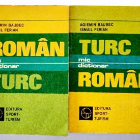 Agiemin Baubec, Ismail Ferian - Mic dictionar roman-turc, turc-roman (2 vol.)