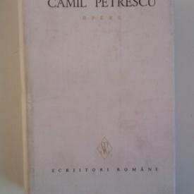 Camil Petrescu - Opere V (editie hardcover)