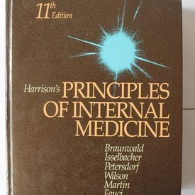 Colectiv autori - Harrison`s Principles of internal medicine (editie hardcover, in limba engleza)