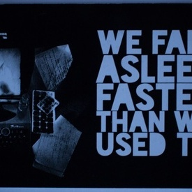 Colectiv autori - We fall asleep faster than we used to (antologie in limba engleza a scriitorilor sibieni de la Zona noua)