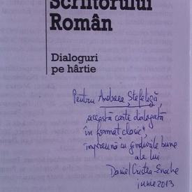 Daniel Cristea-Enache - Sertarul scriitorului roman (cu autograf)