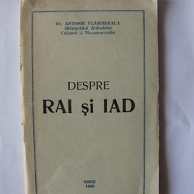 Dr. Antonie Plamadeala - Despre Rai si Iad