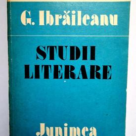 G. Ibraileanu - Studii literare