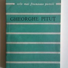 Gheorghe Pitut - Noaptea luminata. Cele mai frumoase poezii