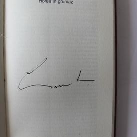 Grigore Lese - Horea in grumaz. Inger pazitor si ispita (cu autograf)