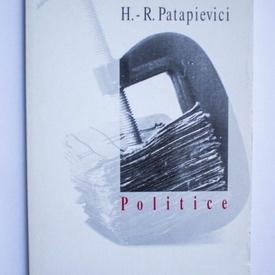 H.-R. Patapievici - Politice