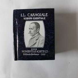 I. L. Caragiale - Scrieri esentiale (5 vol. in caseta speciala, format liliput, hardcover)