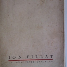 Ion Pillat - Intoarcere 1908-1918
