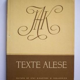 J. A. Komensky - Texte alese (editie hardcover)