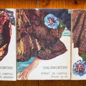 John Galsworthy - Sfarsit de capitol (3 vol.)