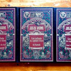 Jules Verne - Les Enfants du capitaine Grant (3 vol., editie hardcover)