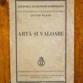 Lucian Blaga - Arta si valoare