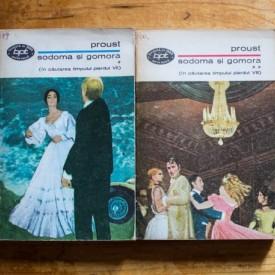 Marcel Proust - Sodoma si Gomora (2 vol.)