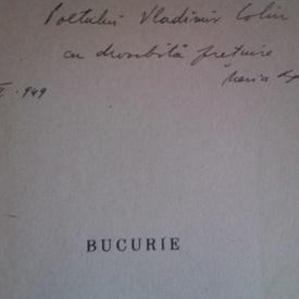 Maria Banus - Bucurie (cu autograf)