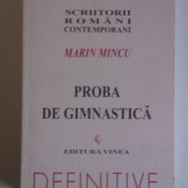 Marin Mincu - Proba de gimnastica