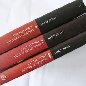 Marin Preda - Cel mai iubit dintre pamanteni (3 vol., editie hardcover)