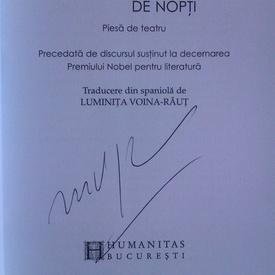 Mario Vargas Llosa - O mie si una de nopti (cu autograf)