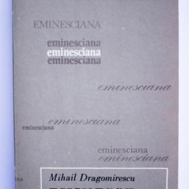 Mihail Dragomirescu - Mihai Eminescu
