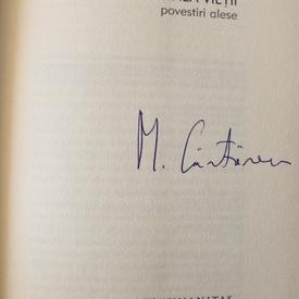 Mircea Cartarescu - Fata de la marginea vietii (editie hardcover, cu autograf)