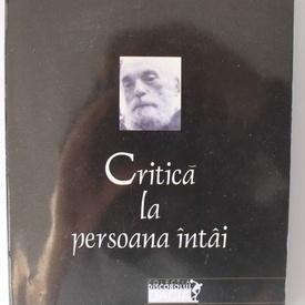 N. Steinhardt - Critica la persoana intai