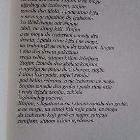 Nikita (Nichita) Stanescu - Jedino moj zivot (editie hardcover, in limba sarbo-croata)