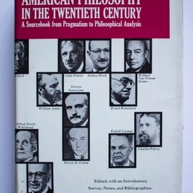 Paul Kurtz (ed.) - American Philosophy in the Twentieth Century (A sourcebook from Pragmatism to Philosophical Analysis) (editie hardcover)