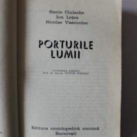 S. Ciulache, I. Letea, N. Vasenciuc - Porturile lumii