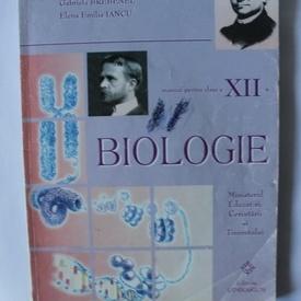 Stelica Ene, Gabriela Brebenel, Elena Emilia Iancu - Manual de biologie pentru clasa a XII-a
