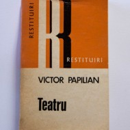 Victor Papilian - Teatru