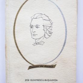 Zoe Dumitrescu-Busulenga - Mihai Eminescu