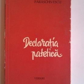 Miron Radu Paraschivescu - Declaratia patetica