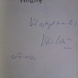 Valentin Ciuca - Pe urmele lui Calistrat Hogas (cu autograf)